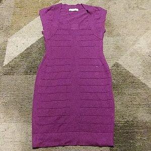 Nicki Minaj Plum Bodycon Dress Large